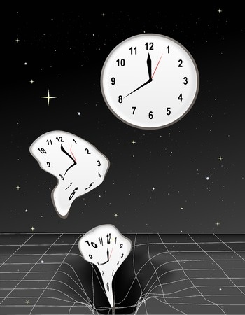 black holes effect on time - photo #15