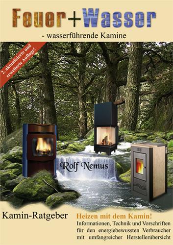 Kaminbuch: Feuer + Wasser - wasserführende Kamine
