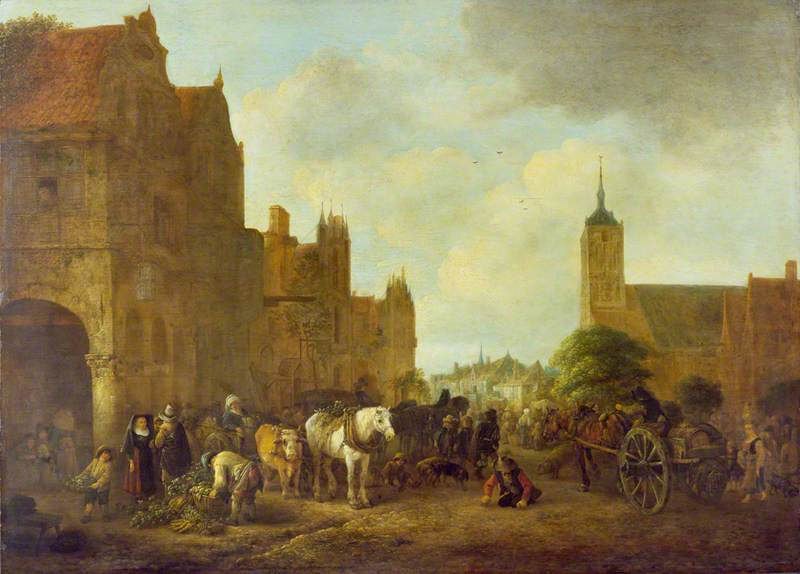 Prinzipalmarkt Münster ca. 1650