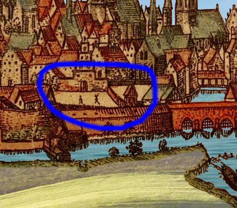 Münster 1570: Der Platz vor dem Bispinghof