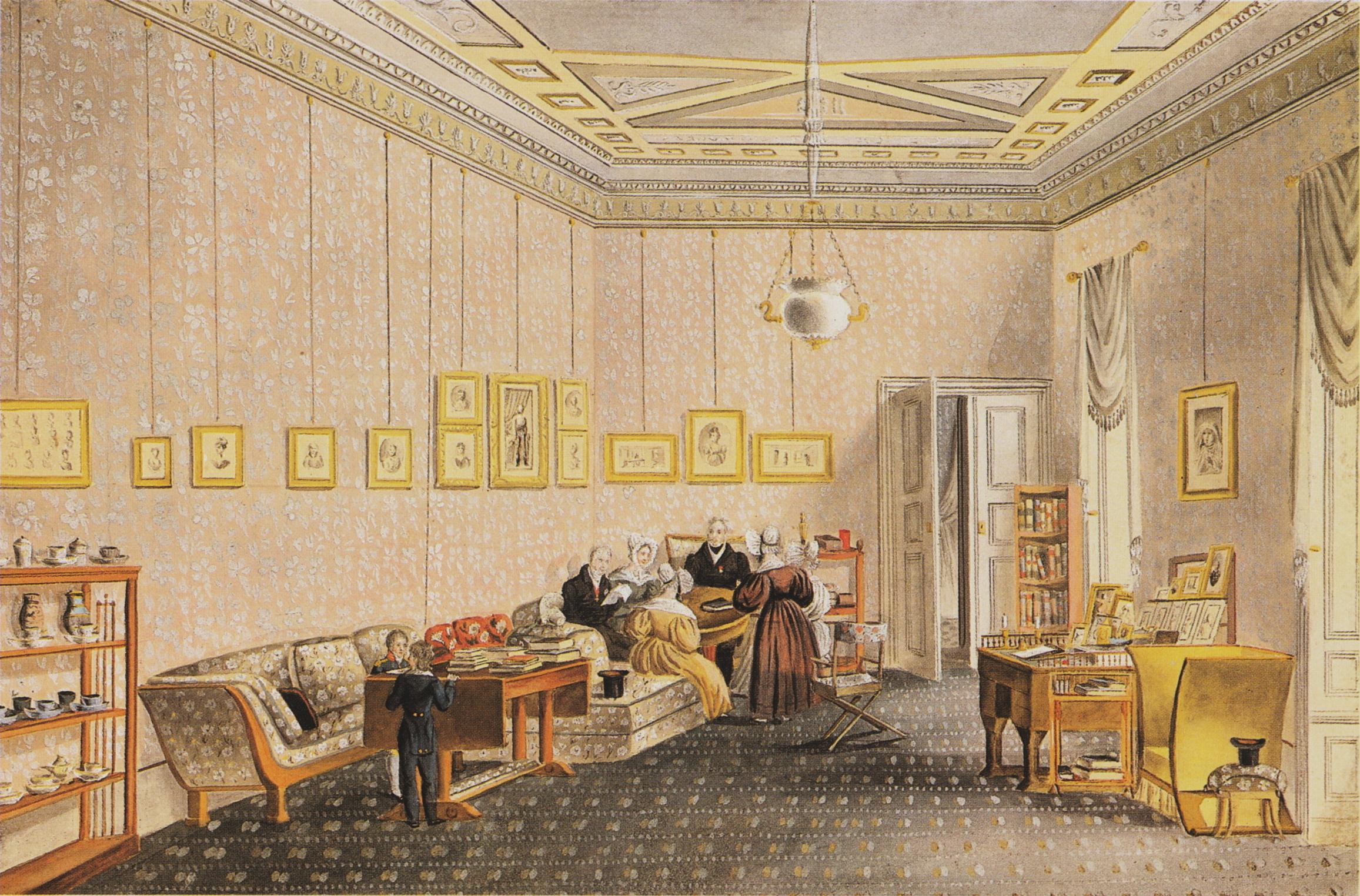 Adel ca. 1830